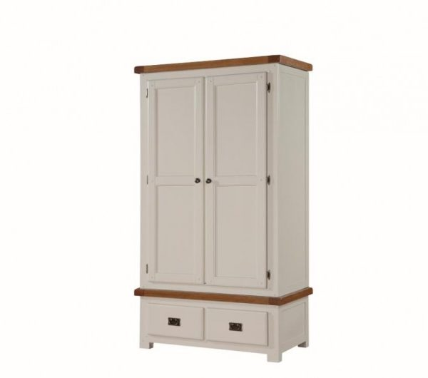 Heritage 2 Door Wardrobe