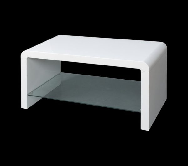 Atlantis Clarus Coffee Table White