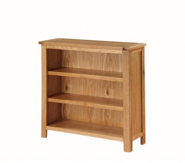 Hartford City Oak Low Bookcase
