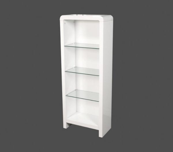 914 thickbox default Atlantis Clarus Bookcase White