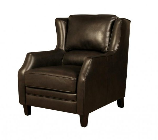 915 thickbox default Epsom High Back Dark Brown Armchair