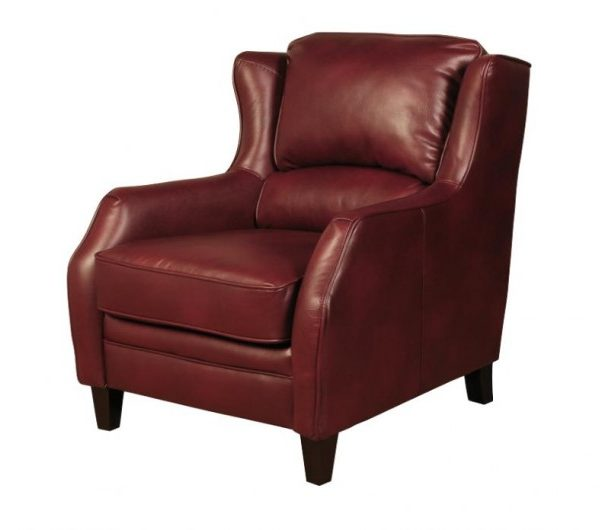 916 thickbox default Epsom High Back Burgundy Armchair