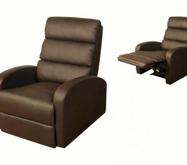 923 thickbox default Livorno Reclining Chair Brown
