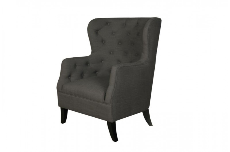 930 thickbox default Fulham Charcoal Armchair