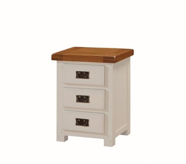 Heritage 3 Drawer Nightstand