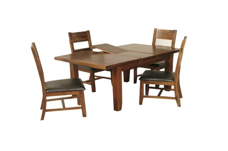1247 thickbox default Roscrea 4x3 Extension Dining Set With 4 Chairs