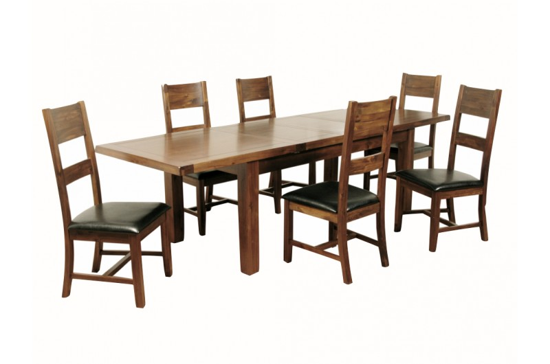 1249 thickbox default Roscrea 6x3 Double Leaf Extension Dining Set With 6 Chairs