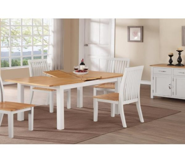 1284 thickbox default Hartford Painted 4 Extension Dining Set