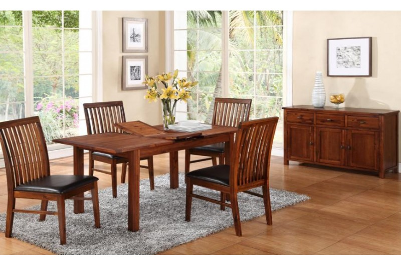 1291 thickbox default Hartford Acacia 4 Extension Dining Set With Strathmore Chair