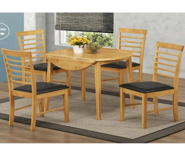 1295 thickbox default Hanover Round Drop Leaf Dining Set