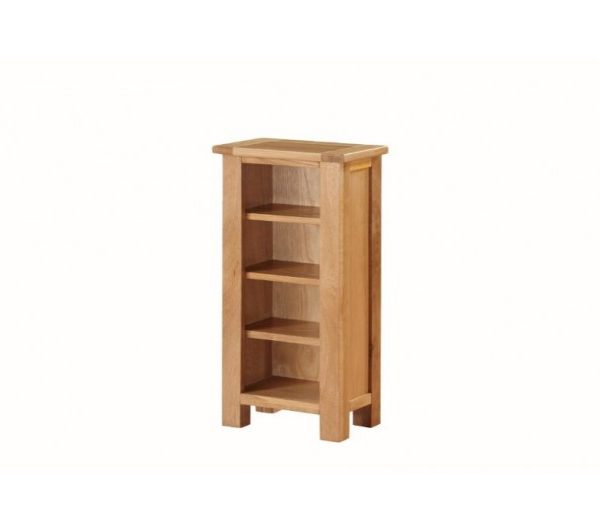 Hartford City Oak DVD Stand