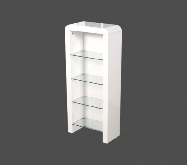 Atlantis Clarus DVD Storage Unit White