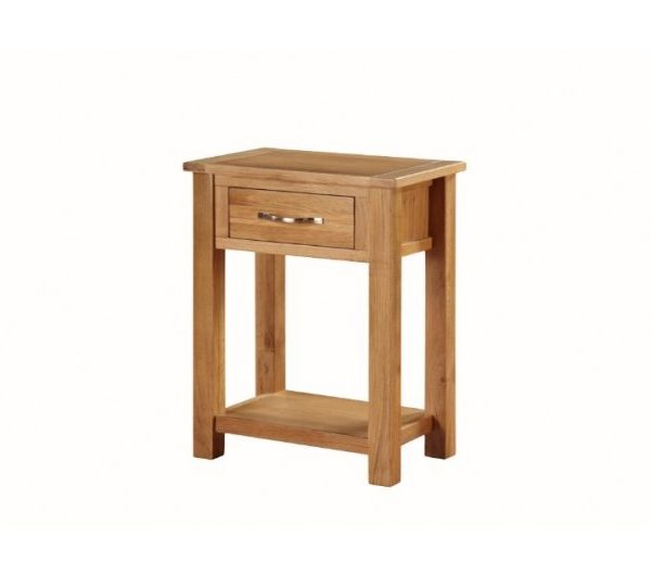 Hartford City Oak Medium Console Table