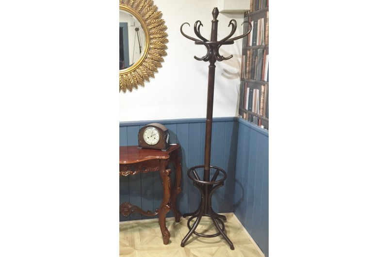 1809 thickbox default Bentwood Mahogany Coat Hat Stand