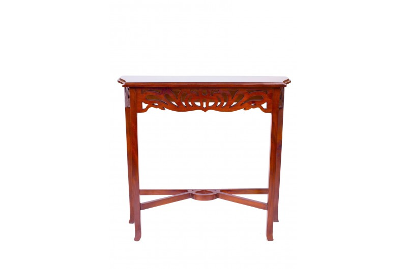 1873 thickbox default Mahogany Entry Console Table