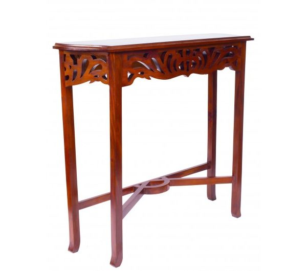 1874 thickbox default Mahogany Entry Console Table