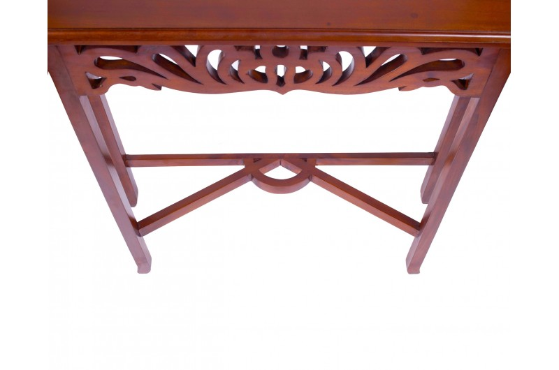 1876 thickbox default Mahogany Entry Console Table