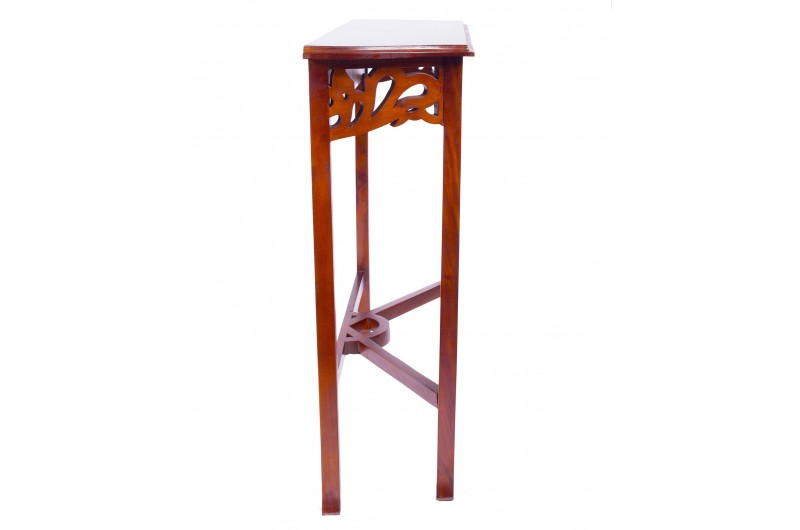 1877 thickbox default Mahogany Entry Console Table