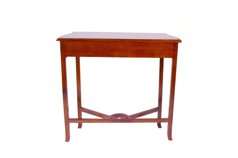 1878 thickbox default Mahogany Entry Console Table
