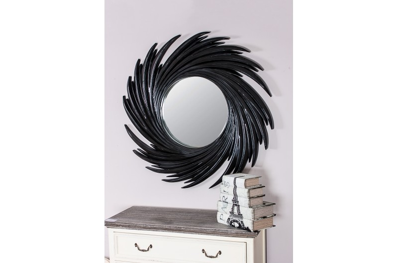 1959 thickbox default Swirl Mirror Black