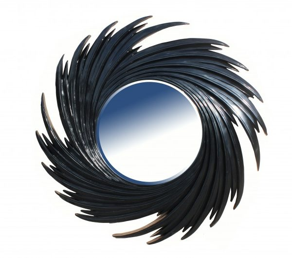 1960 thickbox default Swirl Mirror Black