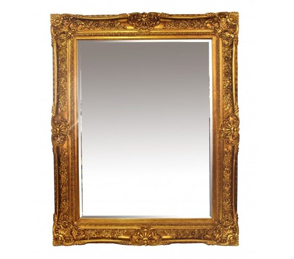Toulouse Mirror Gold