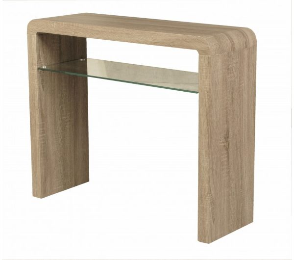 3995 thickbox default Encore Havana Medium Console Table Dark Oak
