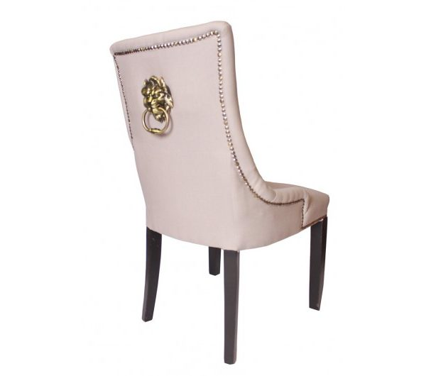 Lion Dining Chair Grey