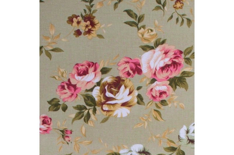 2677 thickbox default Louis Round Back Carver Gold Green Pink Flowers