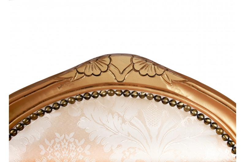 2818 thickbox default French Armchair Gold Damask