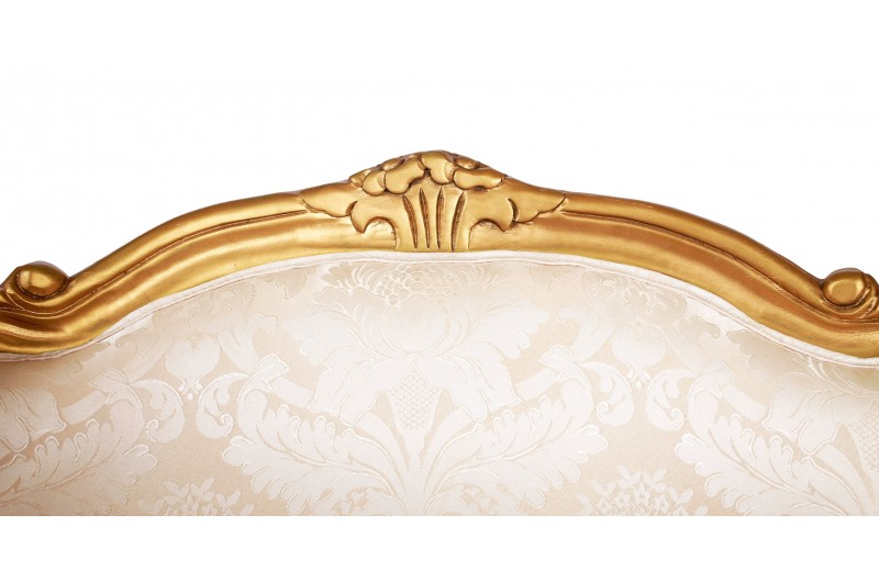 2916 thickbox default French Tub Chair Gold Damask