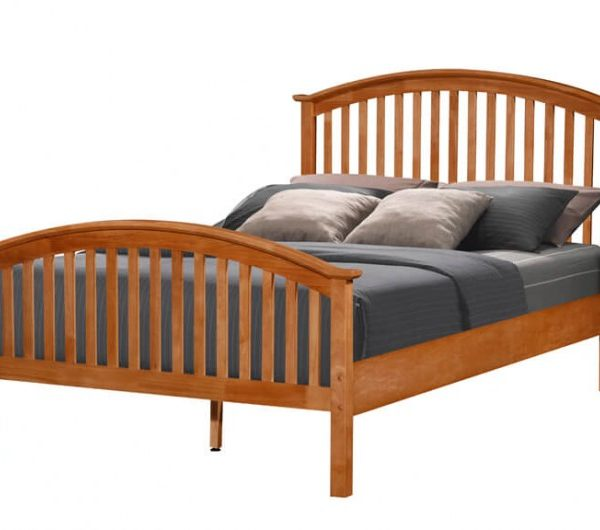 3098 thickbox default Malta Oak Bed
