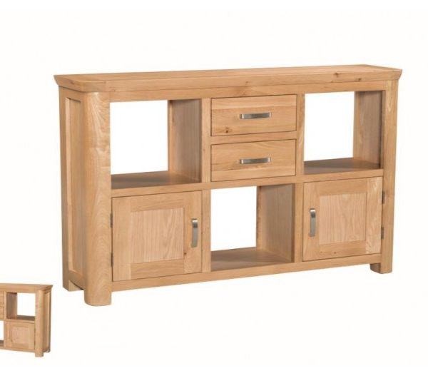 1058 thickbox default Treviso Oak Low Display Unit