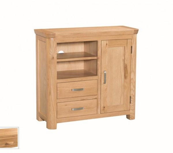 1059 thickbox default Treviso Oak Media Unit