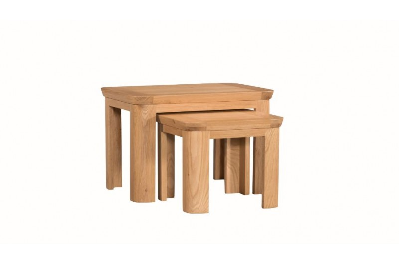 1337 thickbox default Treviso Oak Nest Of 2 Tables