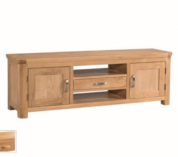 1377 thickbox default Treviso Oak Wide TV Unit