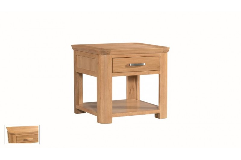 146 thickbox default Treviso Oak End Table With Drawer