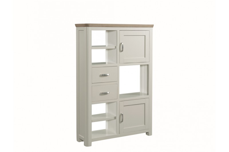 3851 thickbox default Treviso Painted High Display Unit Metal Handles