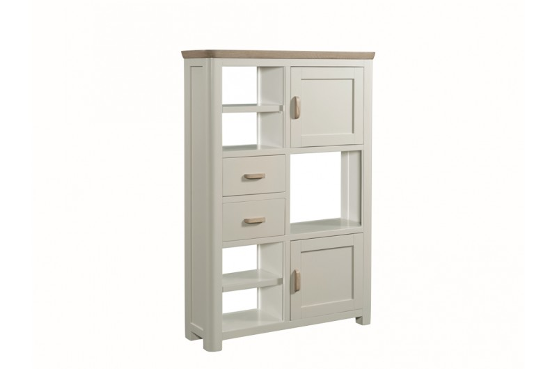 3854 thickbox default Treviso Painted High Display Unit Wooden Handles