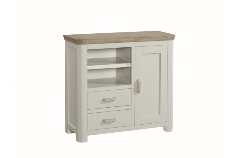3857 thickbox default Treviso Painted Media Unit Wooden Handles