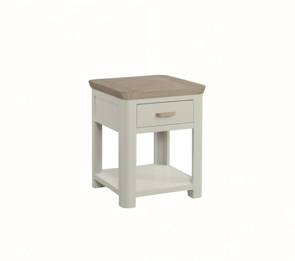 3864 thickbox default Treviso Painted End Table With Drawer With Wooden Handle