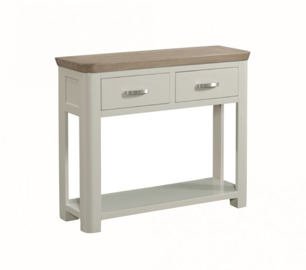 3875 thickbox default Treviso Painted Large Console Hall Table With Drawers Metal Handles
