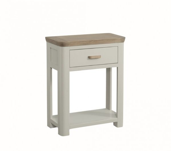 3878 thickbox default Treviso Painted Small Console Hall Table With Drawer Wooden Handle
