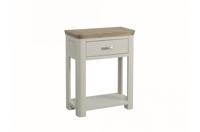 3879 thickbox default Treviso Painted Small Console Hall Table With Drawer Metal Handle