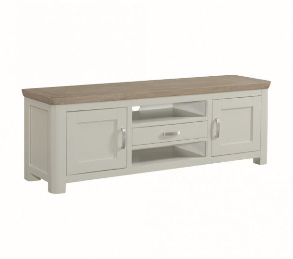 3881 thickbox default Treviso Painted Wide TV Unit With Metal Handles