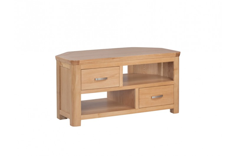 3890 thickbox default Treviso Oak Corner TV Unit