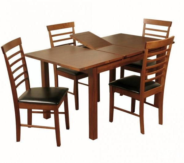 3938 thickbox default Hartford Acacia 4 Extension Dining Set With Hanover Chair