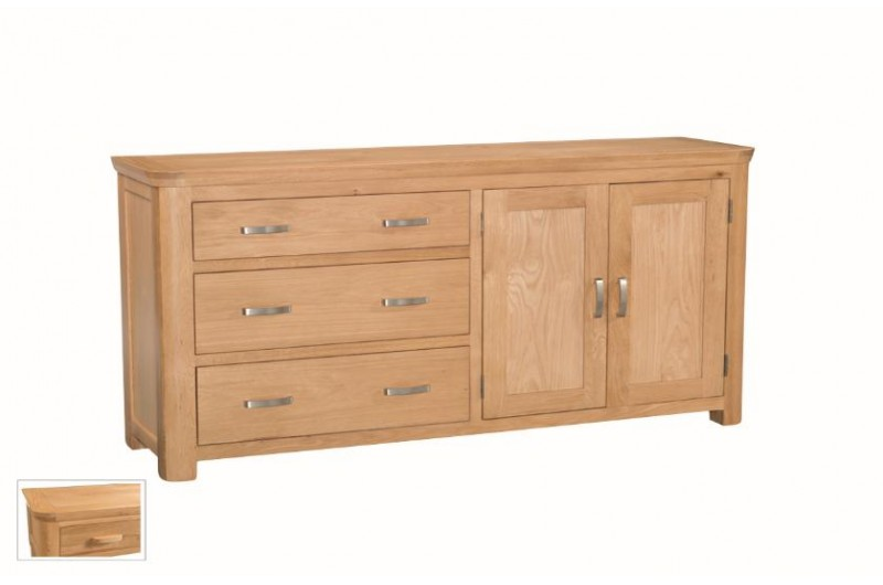 566 thickbox default Treviso Oak Large Sideboard