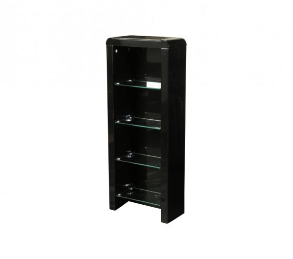 Atlantis Clarus DVD Storage Unit Black