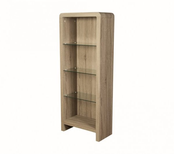 3998 thickbox default Encore Havana Bookcase Dark Oak